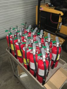 Fire Extinguisher Service and Cert