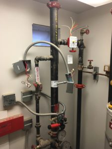 Fire Sprinkler Protection System